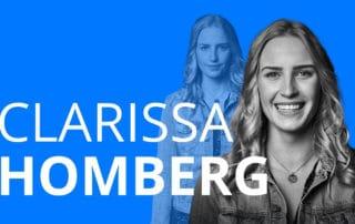 Die junge Frau Clarissa Homberg erzählt, wie sie mit 17 Mutter wurde und über ihre Motivation mit Kind eine Ausbildung zu absolvieren.