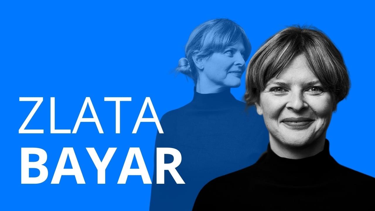 Auf dem Bild zu sehen ist die Frau Zlata Bayar, die über ihren beruflichen Werdegang, Hürden und Sinnsuche erzählt. Und wie sie als Architektin in die Jugendarbeit gegangen ist.