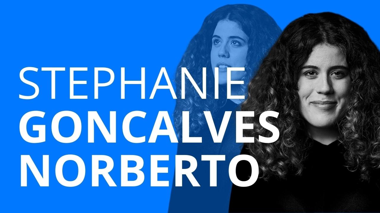 Stephanie Goncalves Norberto erzählt von ihrem Beruf als pädagogische Leiterin des FC St. Pauli und ihrer eigenen Schullaufbahn