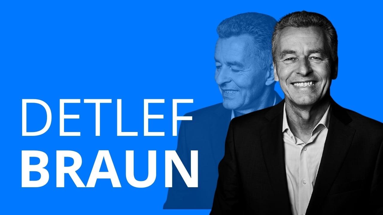 Detlef Braun erzählt von seinem Berufsweg, der ihn zu seinem jetzigen Beruf als Geschäftsführer der Messe der Frankfurt führte
