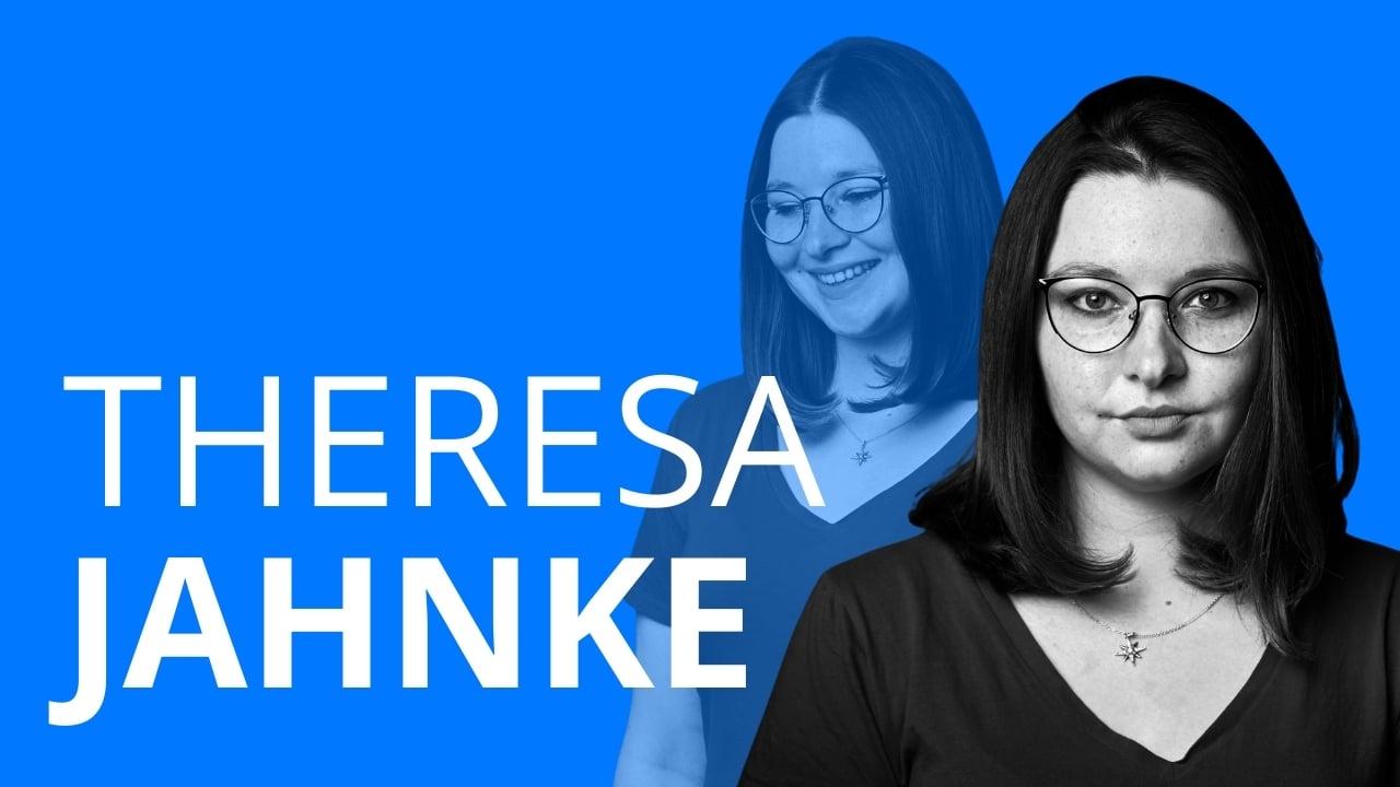 Theresa Jahnke erzählt von ihrer Ausbildung und ihrem Beruf als Mechatronikerin im Kraftwerk